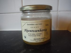 Alpenrose honey for Oberstdorf