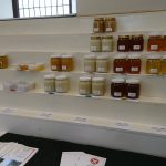 Dunfermline Beekeepers and Fife Beekeepers joint display at 2016 Kinross Agricultural Show - exhibits