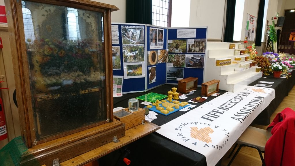 Dunfermline Beekeepers and Fife Beekeepers joint display at 2016 Kinross Agricultural Show2